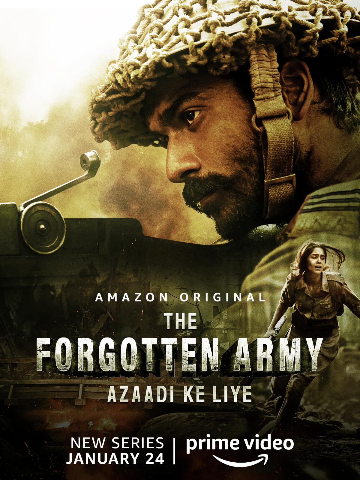 The Forgotten Army (Azaadi Ke Liye) 2020 Season 1 Amazon Prime movie