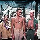 Ray Walston, Juanita Hall, and John Kerr in South Pacific (1958)