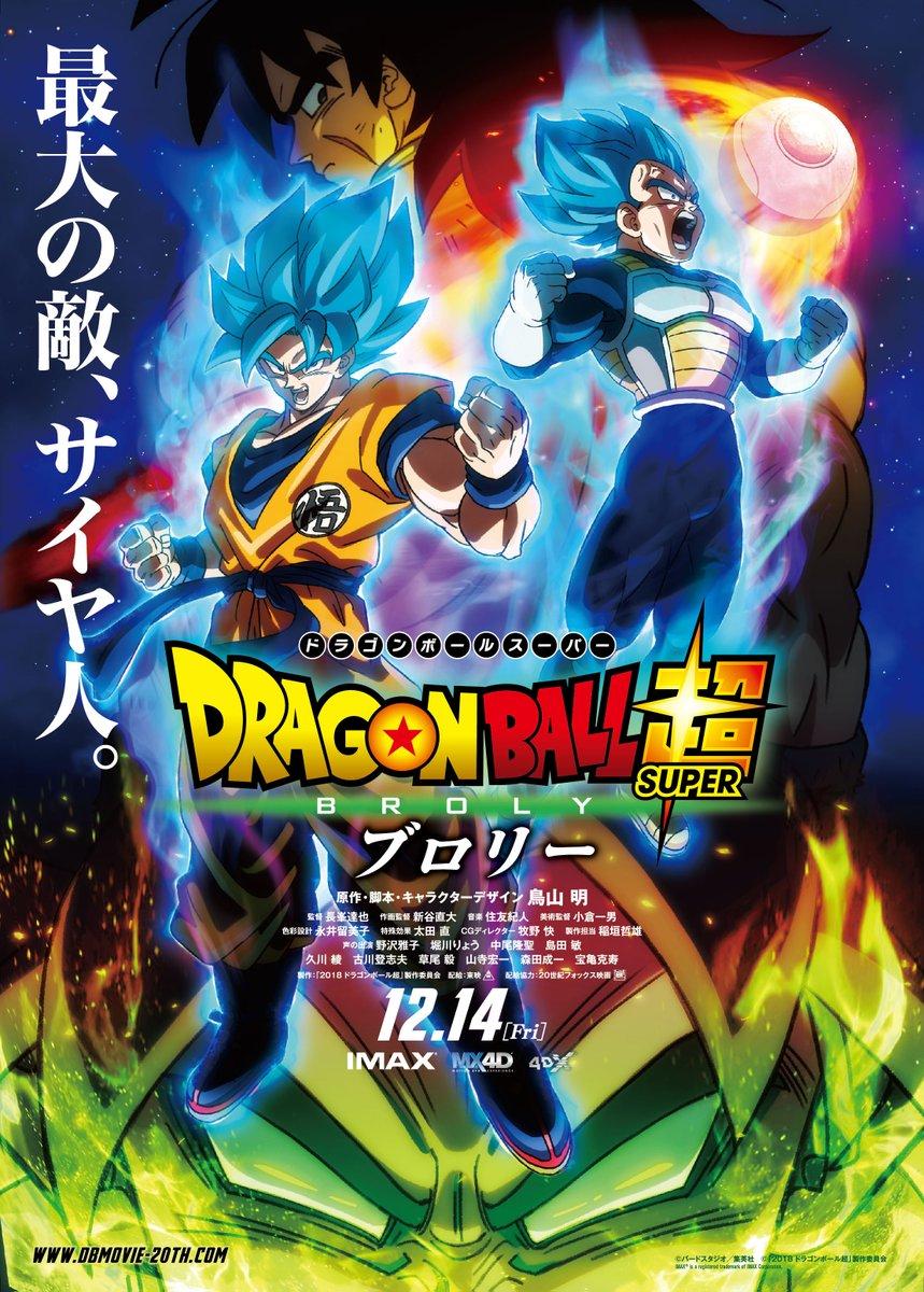 Dragon Ball Super: Broly (2018) BluRay 720p