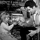 "Elvis Presley and Victoria Meyerink in ""Speedway,"" MGM, 1968."