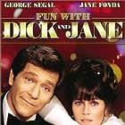 Jane Fonda and George Segal in Fun with Dick and Jane (1977)