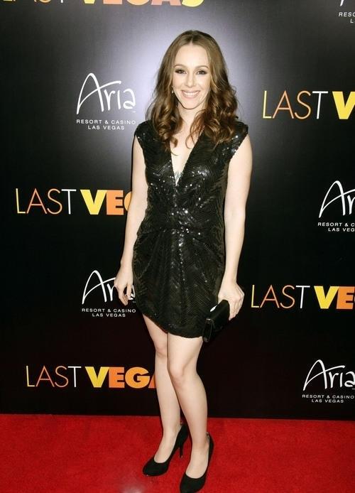 April Billingsley - CBS Films LAST VEGAS Special Screening After Party and Red Carpet Arrivals at Haze Nightclub at ARIA - Las Vegas, NV. October 19, 2013