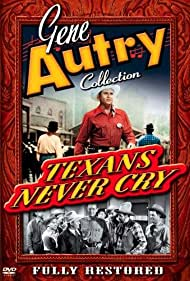 Gene Autry, Roy Butler, Pat Buttram, Harry Mackin, Frankie Marvin, and Frank Fenton in Texans Never Cry (1951)