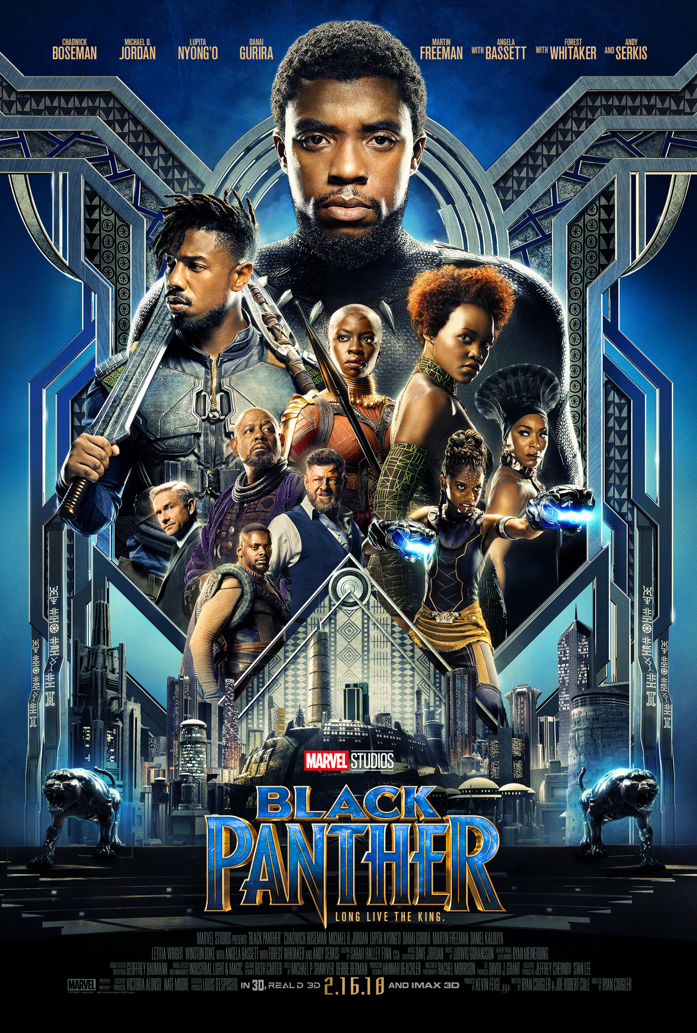 Image result for black panther movie poster