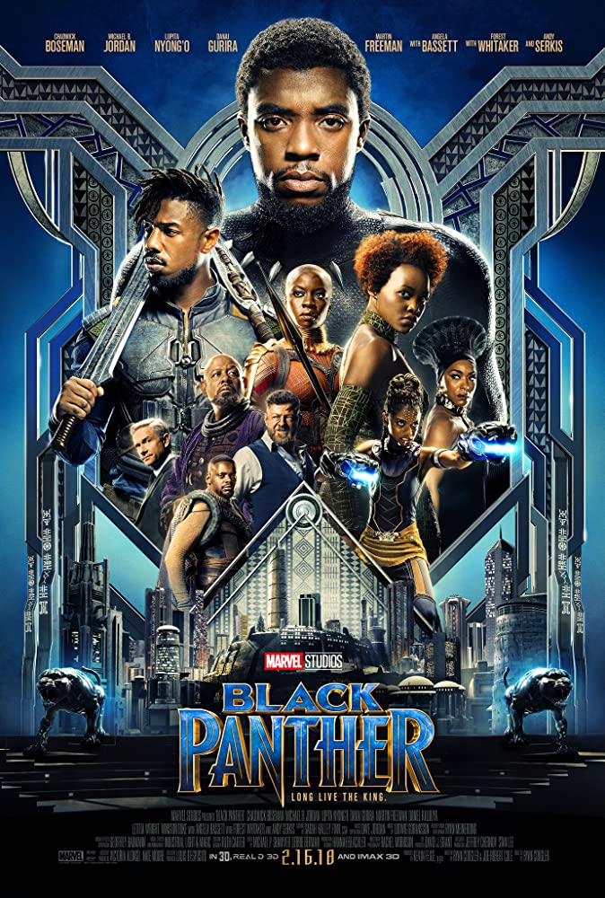 Black Panther (2018) 720p ORG Hindi English Telugu Tamil