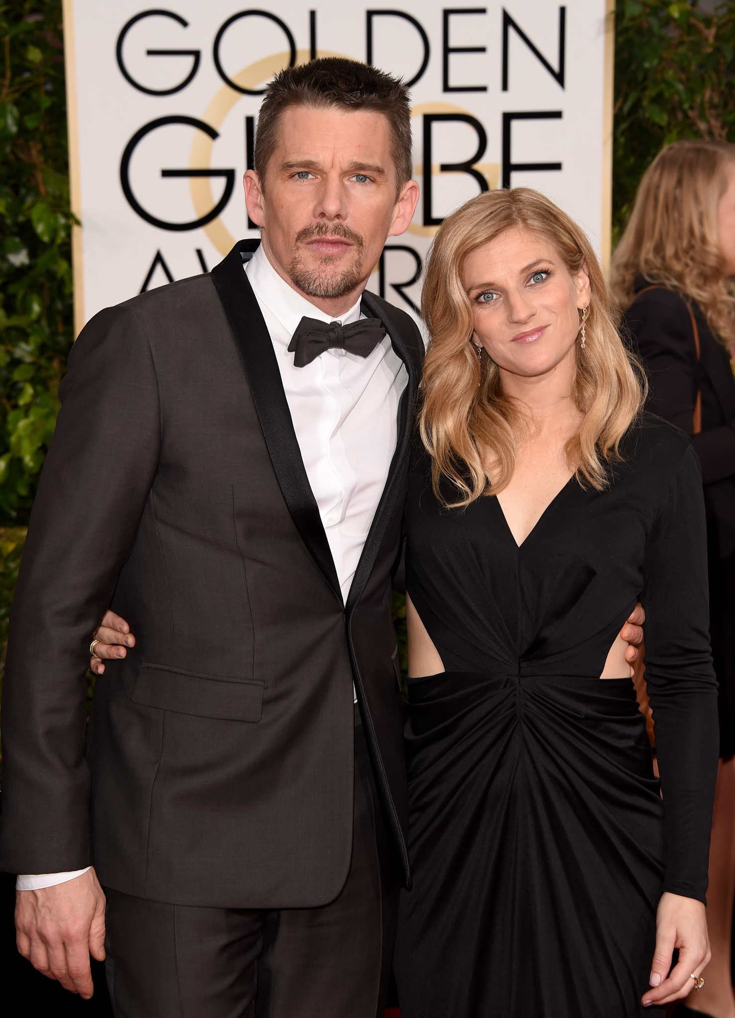 Ethan Hawke and Ryan Hawke at an event for 72nd Golden Globe Awards (2015)