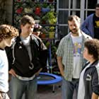 Judd Apatow, Steven Brill, Troy Gentile, and Nate Hartley in Drillbit Taylor (2008)