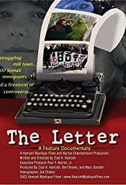The Letter: An American Town and the 'Somali Invasion' Poster