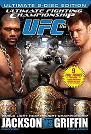 UFC 86: Jackson vs. Griffin Poster