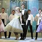 James Marsden, Tiffany Engen, Brittany Snow, Zac Efron, J.P. Ferreri, and Laura Edwards in Hairspray (2007)