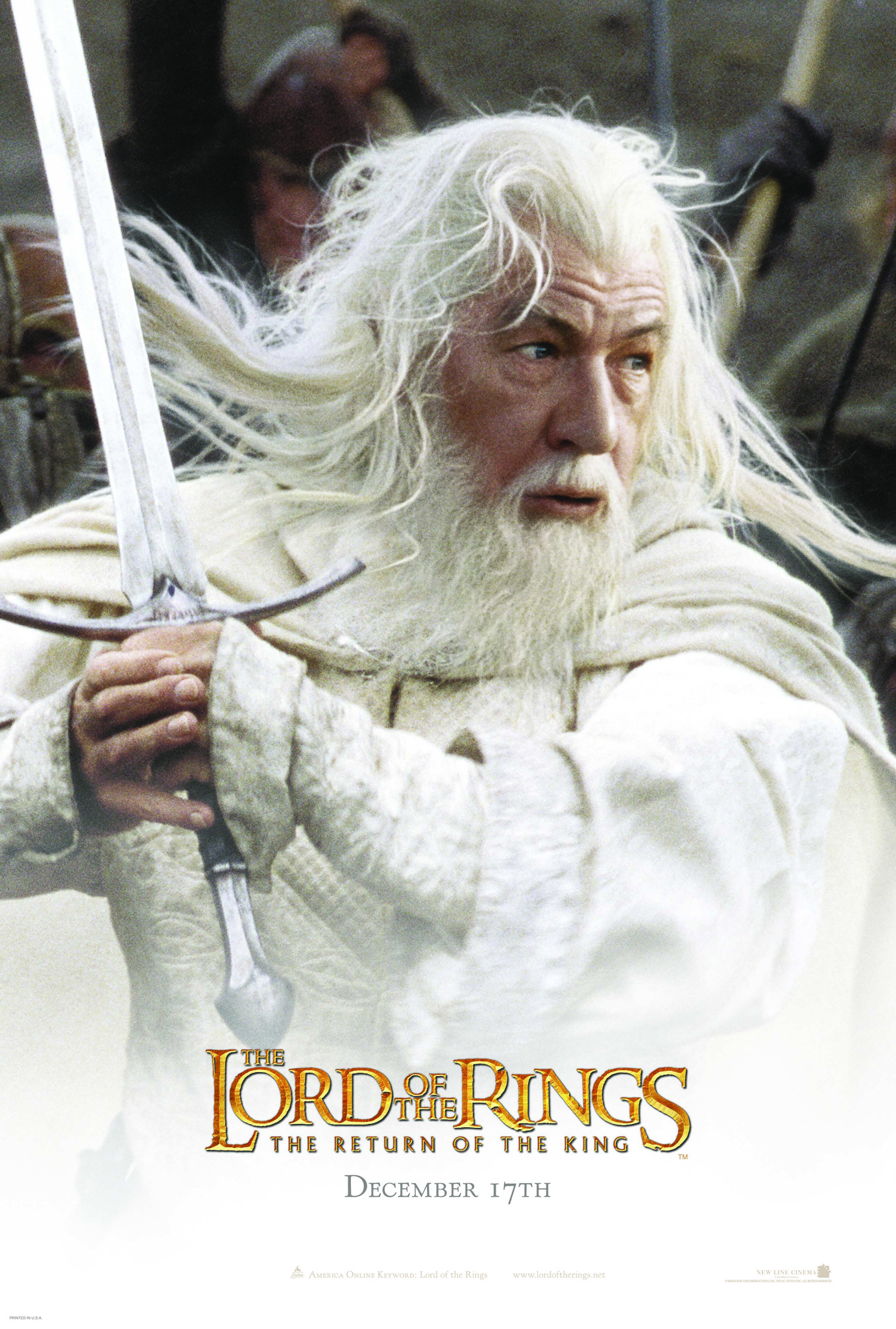 Ian McKellen in The Lord of the Rings: The Return of the King (2003)