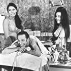 Nancy Bonniwell, Don Knotts, and Cecile Ozorio in The Love God? (1969)