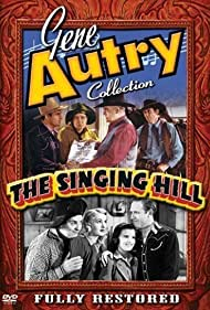 Gene Autry, Wade Boteler, Smiley Burnette, Virginia Dale, Mary Lee, and Cactus Mack in The Singing Hill (1941)