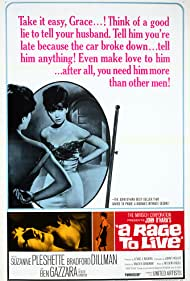 A Rage to Live (1965) Poster - Movie Forum, Cast, Reviews