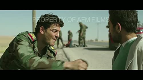 """Kal Naga as Syrian Milit. in """"FROM A TO B"""" (2015)"""