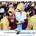 Eva Marie Saint and Jill Haworth in Exodus (1960)
