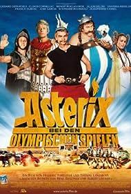 Gérard Depardieu, Alain Delon, Clovis Cornillac, Benoît Poelvoorde, and Vanessa Hessler in Astérix aux jeux olympiques (2008)