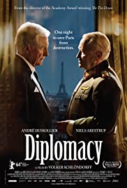Diplomacy (2014) Poster - Movie Forum, Cast, Reviews