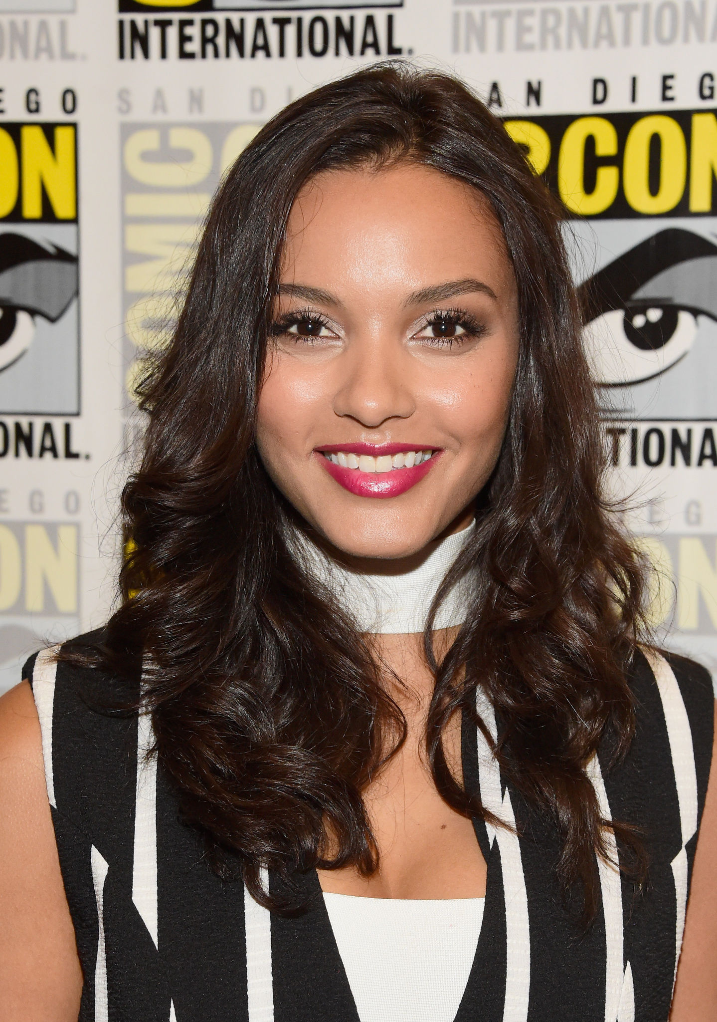 Jessica Lucas at an event for Gotham (2014)