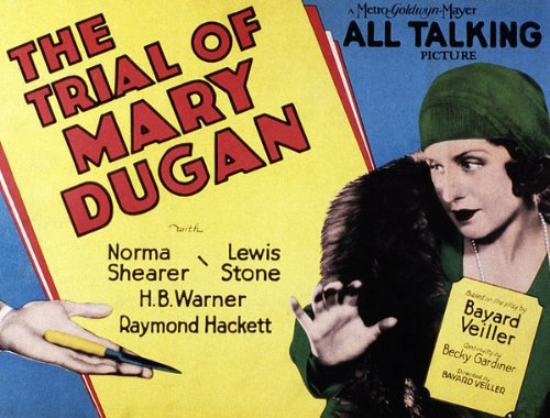 Image result for the trial of mary dugan 1929