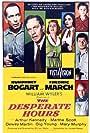 Humphrey Bogart, Richard Eyer, Fredric March, Dewey Martin, Robert Middleton, Mary Murphy, and Martha Scott in The Desperate Hours (1955)