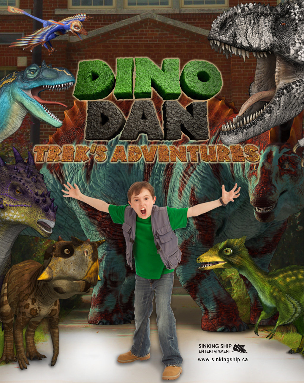 Dino Dan Trek S Adventures Tv Series 2013 Imdb