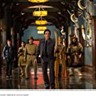 Robin Williams, Ben Stiller, Patrick Gallagher, Mizuo Peck, Skyler Gisondo, and Rami Malek in Night at the Museum: Secret of the Tomb (2014)