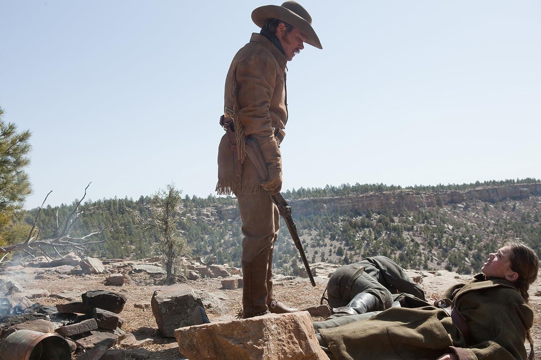 Matt Damon and Hailee Steinfeld in True Grit (2010)