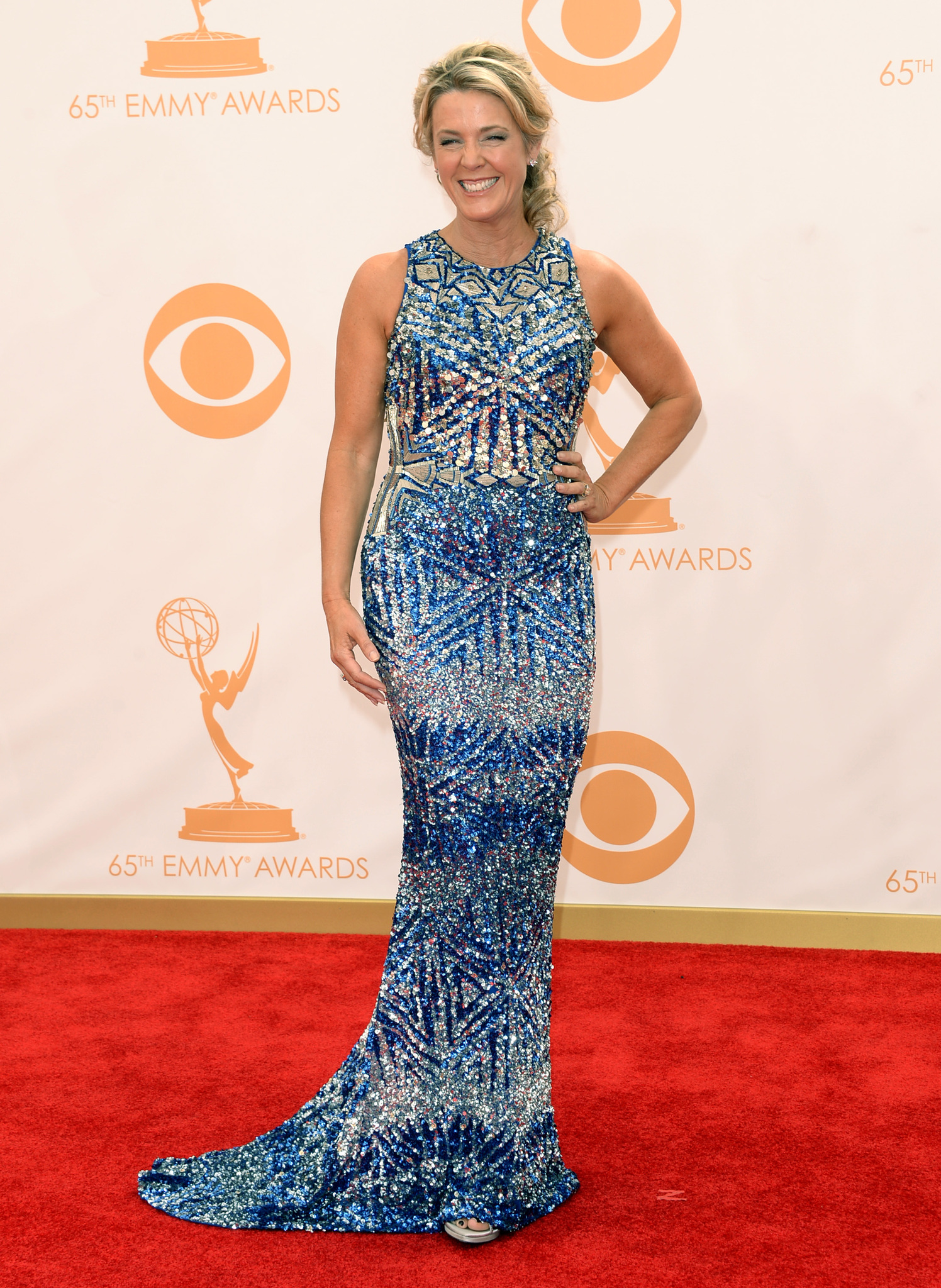 Deborah Norville at an event for The 65th Primetime Emmy Awards (2013)