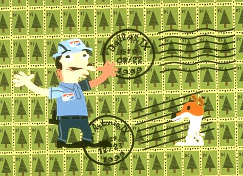 The Postman sings to Olive about why he hates Christmas.