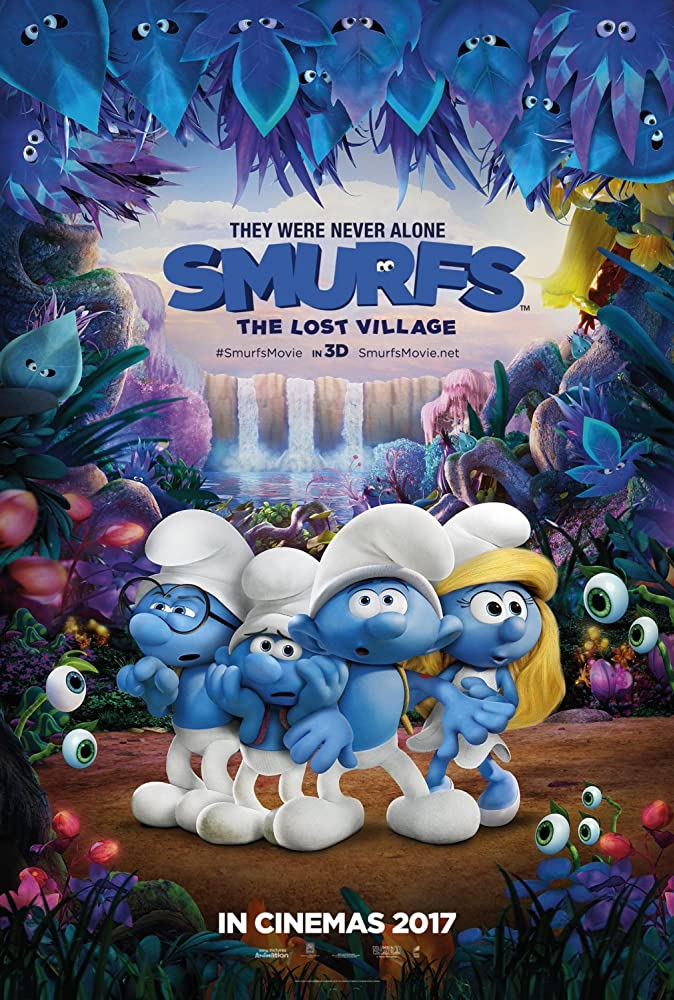 Download Smurfs : The Lost Village (2017) 720p Blu-Ray x264 | 1080p 10bit Bluray x265 HEVC [Org BD 5.1 Hindi + DD 5.1 English] ESub 848 MB | 3.16 GB
