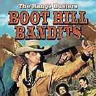 Ray Corrigan, I. Stanford Jolley, John 'Dusty' King, and John Merton in Boot Hill Bandits (1942)