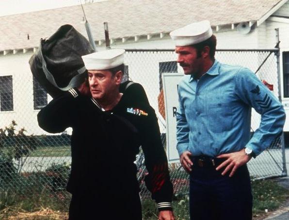 James Caan and Eli Wallach in Cinderella Liberty (1973)