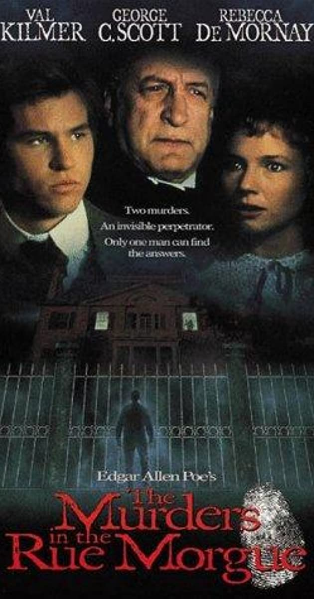 The Murders in the Rue Morgue (TV Movie 1986) - IMDb