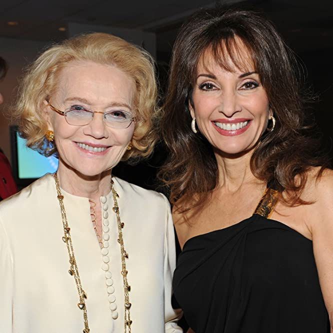 Susan Lucci and Agnes Nixon at an event for All My Children (1970)