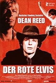 Der rote Elvis Poster
