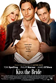 Tori Spelling, James O'Shea, and Philipp Karner in Kiss the Bride (2007)