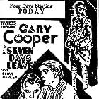Seven Days Leave (1930)
