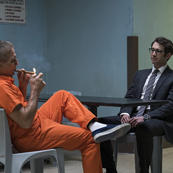 Tony Danza and Josh Groban in The Good Cop (2018)