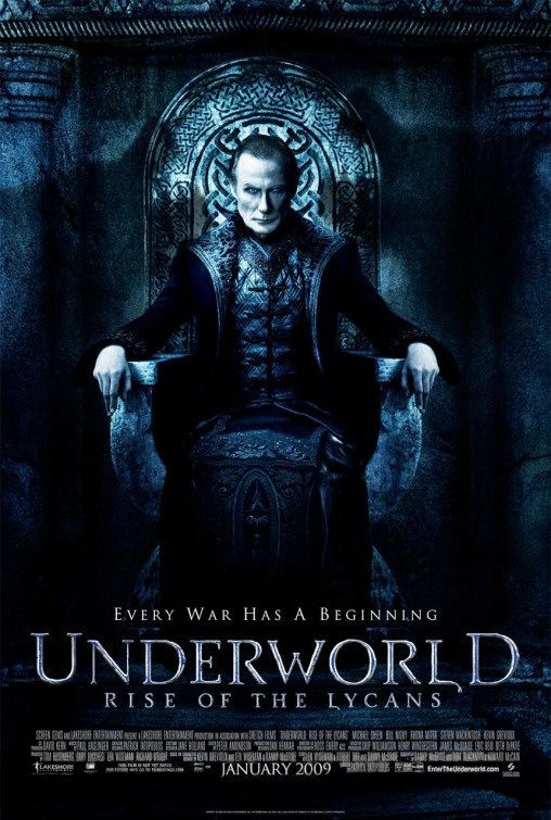Poster film Underworld: Rise of the Lycans (2009)