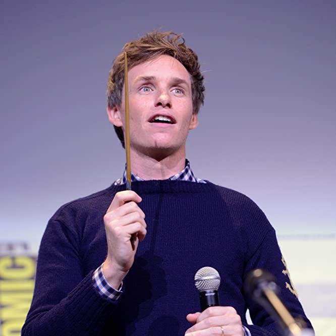 Eddie Redmayne at an event for Fantastic Beasts and Where to Find Them (2016)