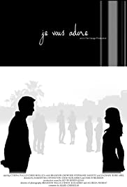 je vous adore Poster