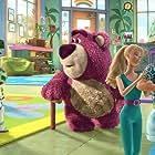 Tom Hanks, Michael Keaton, Tim Allen, Ned Beatty, Wallace Shawn, Jodi Benson, Estelle Harris, and Don Rickles in Toy Story 3 (2010)