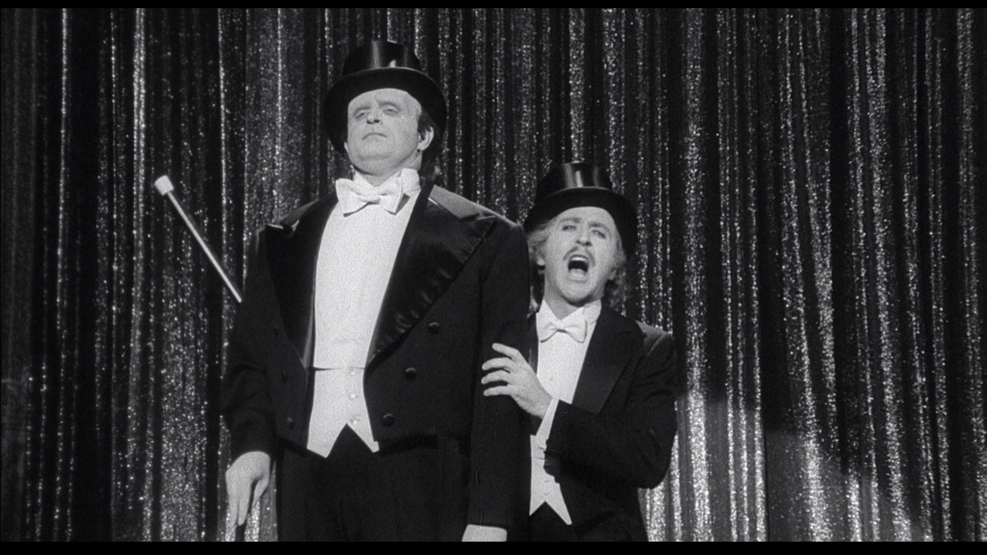 Gene Wilder and Peter Boyle in Young Frankenstein (1974)