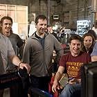 Judd Apatow, James Franco, David Gordon Green, Shauna Robertson, Seth Rogen, and Evan Goldberg in Pineapple Express (2008)