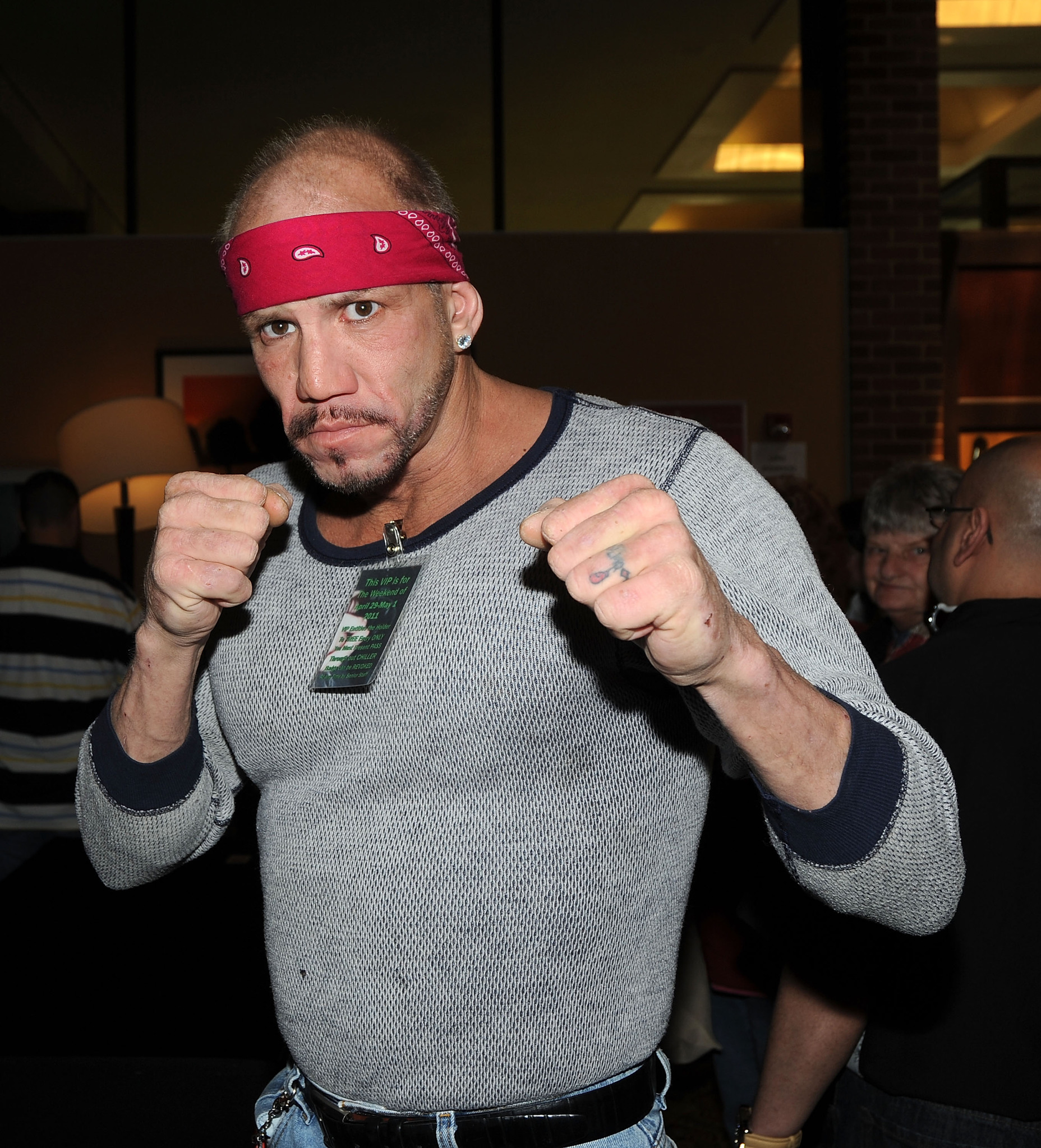 Tommy Morrison now
