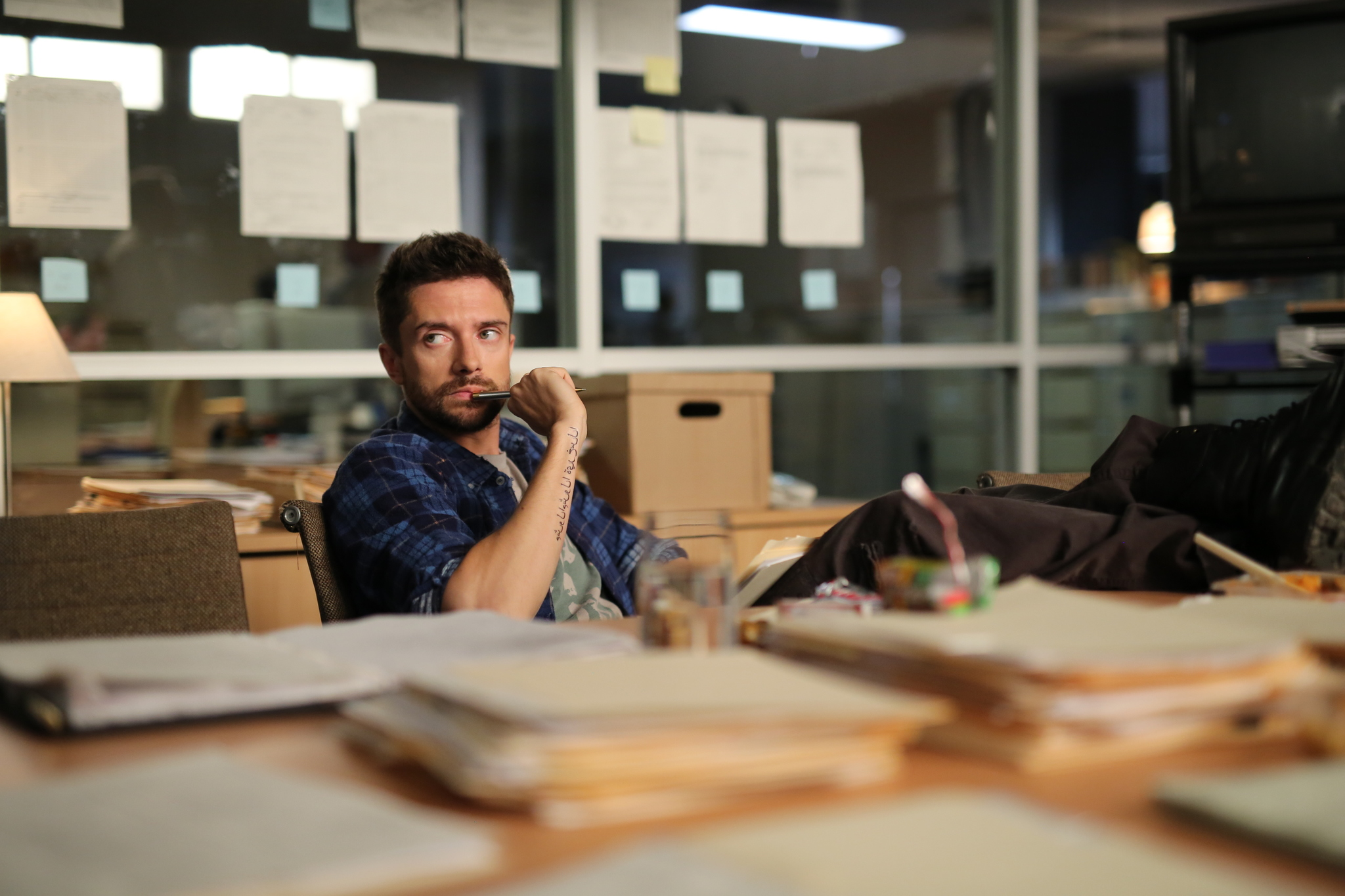 Topher Grace in Truth (2015)
