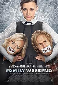 Matthew Modine, Kristin Chenoweth, and Olesya Rulin in Family Weekend (2013)