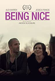 Alex Warren and Jessica Francis in Being Nice (2014)