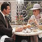 Faye Dunaway and Paul Burke in The Thomas Crown Affair (1968)
